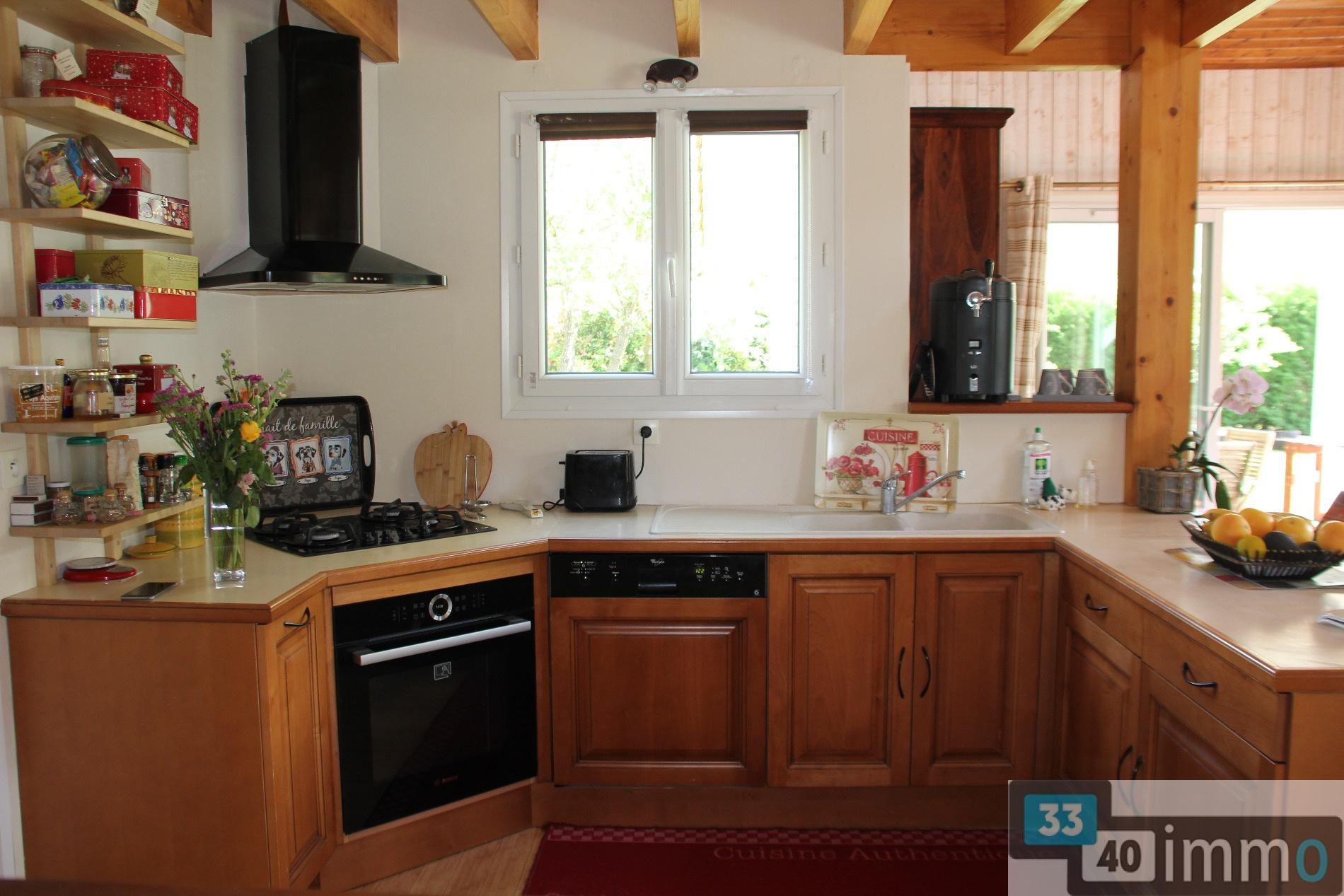 Vente maison bois entre nature et commodit s 3340 immo - Maison nature et bois ...
